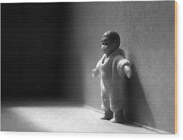 The Kid Wood Print by Dan Holm
