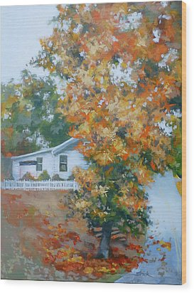 The King Of King Street Wood Print by Carol Strickland