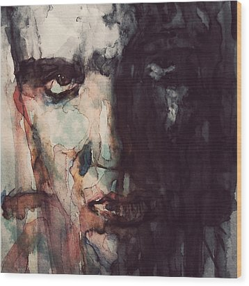 The King Wood Print by Paul Lovering