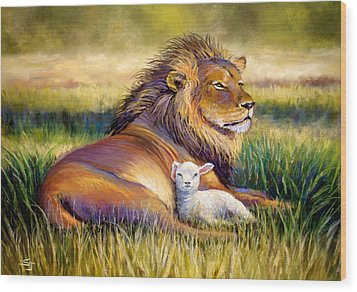The Kingdom Of Heaven Wood Print by Susan Jenkins