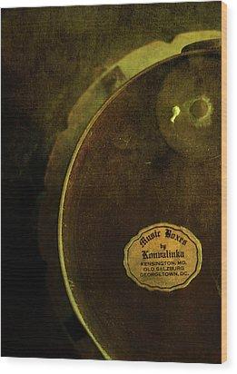 The Konvalinka Music Box Wood Print by Rebecca Sherman