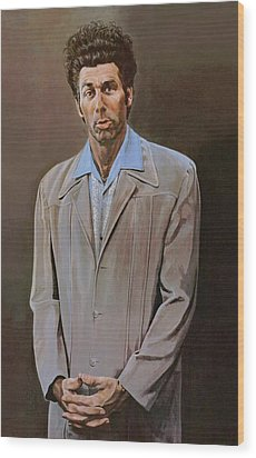 The Kramer Portrait  Wood Print