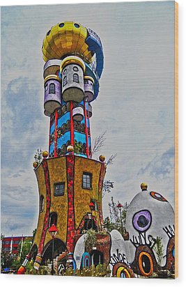The Kuchlbauer Tower Wood Print by Juergen Weiss