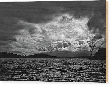 The Lake Wood Print by John K Sampson