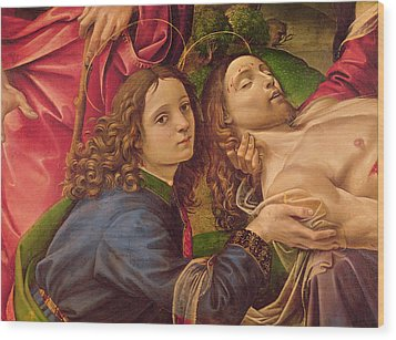 The Lamentation Of Christ Wood Print by Capponi