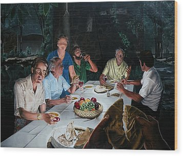 The Last Supper Wood Print by Dave Martsolf