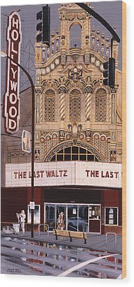 The Last Waltz Wood Print by Mike Hill