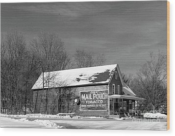 The Layton Country Store Wood Print by Nicki McManus