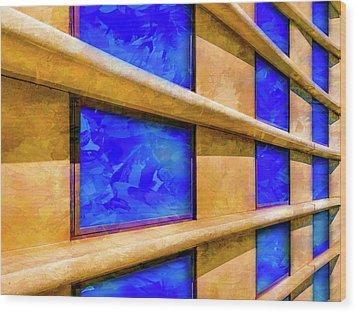 The Ledge Wood Print by Paul Wear