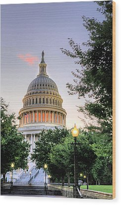 The Legislative Branch Wood Print by JC Findley