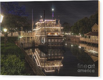 The Liberty Belle Wood Print