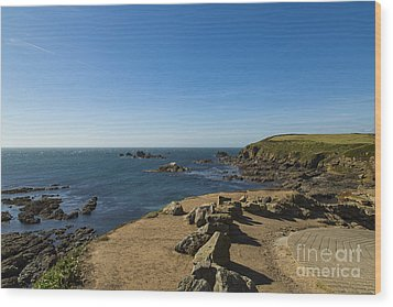 Wood Print featuring the photograph The Lizard Point by Brian Roscorla