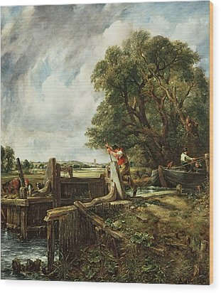 The Lock Wood Print by John Constable