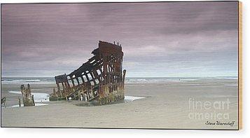 The Lone Survivor Wood Print by Steve Warnstaff
