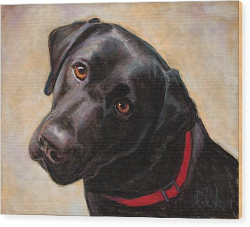 The Look Of Love Wood Print by Billie Colson