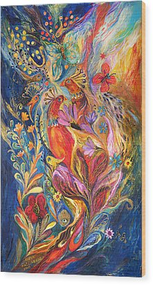 The Love Story II Wood Print by Elena Kotliarker