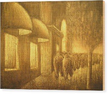 The Lumber Exchange Wood Print by Jaylynn Johnson