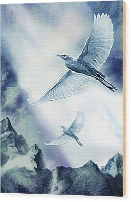 The Magic Of Flight Wood Print