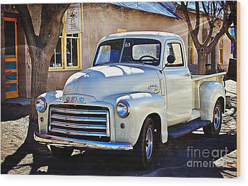 Wood Print featuring the photograph The Magic Of The 1949 Gmc 100 by Barbara Chichester