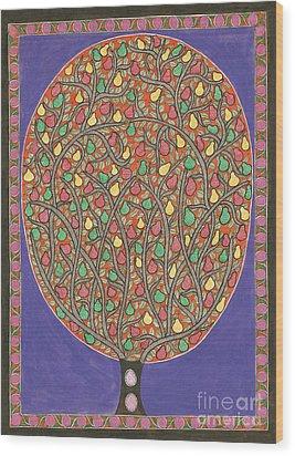 The Mango Tree Wood Print