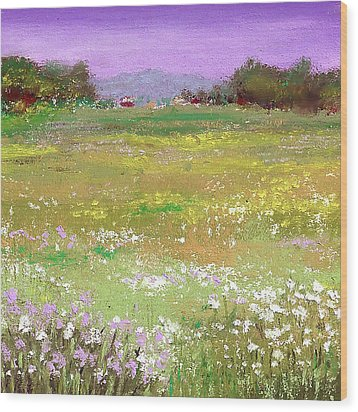 The Meadow Wood Print by David Patterson