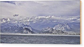 The Mediterranean Coast Wood Print