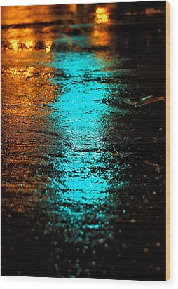 The Memory Lane II Wood Print by Prakash Ghai