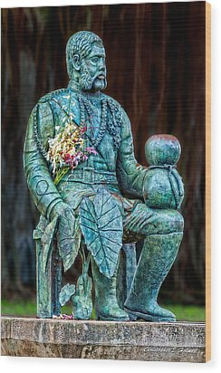 The Merrie Monarch Wood Print by Christopher Holmes