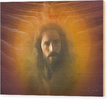 The Messiah Wood Print