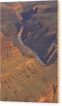 Wood Print featuring the photograph The Mighty Colorado by Stephen  Vecchiotti