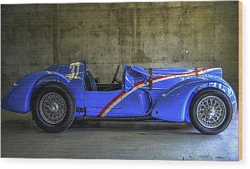 The Million Franc Car Wood Print