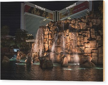 Wood Print featuring the photograph The Mirage by Ryan Photography