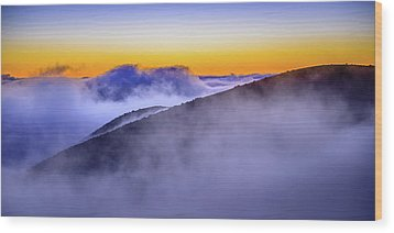 The Mists Of Cloudfall Wood Print
