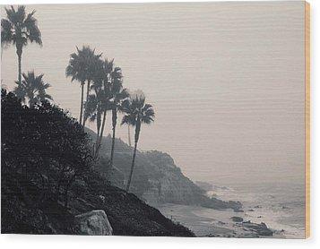 The Mists Of Laguna Beach Wood Print