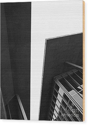 The Modern Wood Print by Slade Roberts