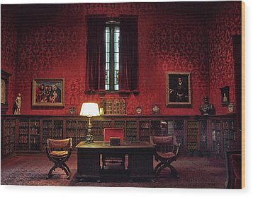 Wood Print featuring the photograph The Morgan Library Study by Jessica Jenney