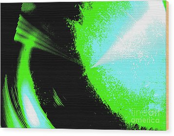 Wood Print featuring the photograph The Motion Of Energy- The Ripples We Make by Jesse Ciazza