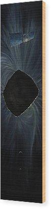 The Mystery Of Bennu Wood Print by Simon Kregar