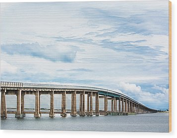 Wood Print featuring the photograph The Navarre Bridge by Shelby Young