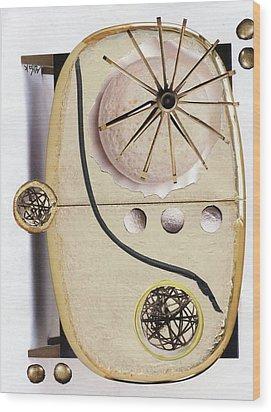 The Navigator Wood Print by Michal Mitak Mahgerefteh