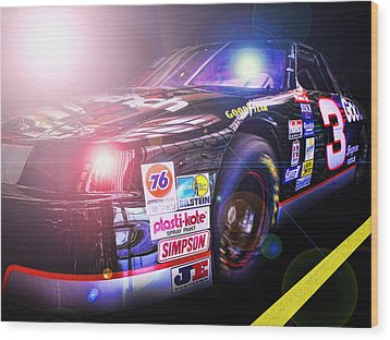 The Need For Speed 3 Wood Print by Kenneth Krolikowski