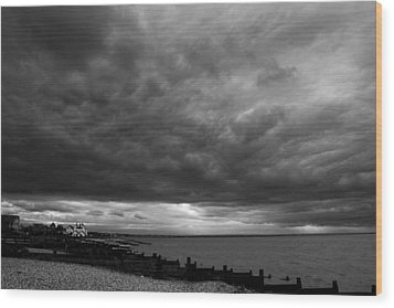 The Neptune Whitstable Wood Print