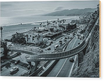The New P C H Overpass Wood Print