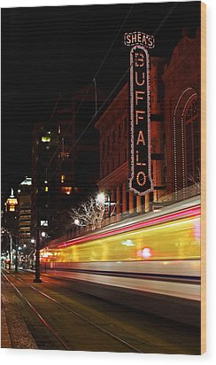 The Night Train Wood Print by Don Nieman