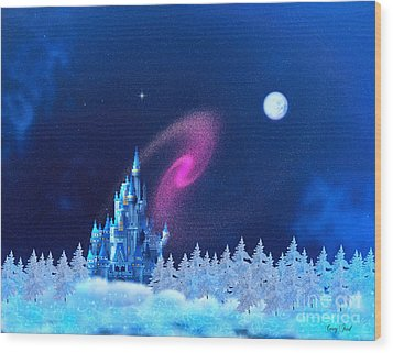 The North Pole Wood Print by Corey Ford