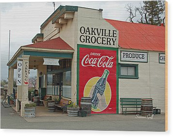 The Oakville Grocery Wood Print