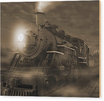 The Old 210 Wood Print by Mike McGlothlen