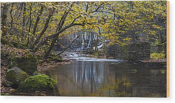 The Old Blanchard Mill Wood Print