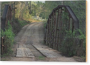 The Old Country Bridge Wood Print