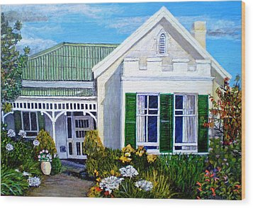 The Old Farm House Wood Print by Michael Durst